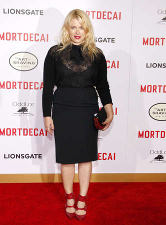 amanda: Amanda de Cadenet at the Los Angeles premiere of Mortdecai held at the TCL Chinese Theater in Hollywood, USA on January 21, 2015. Editorial