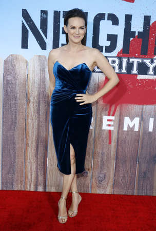 sorority: Carla Gallo at the Los Angeles premiere of Neighbors 2: Sorority Rising held at the Regency Village Theatre in Westwood, USA on May 16, 2016.