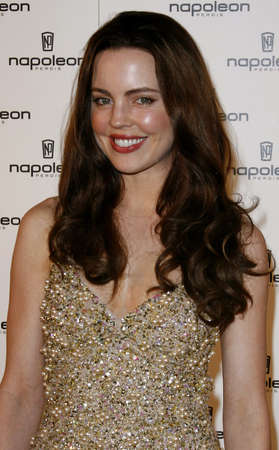 hollywood   california: Melissa George attends the Napoleon Perdis Hollywood Store Unveiling held at the Napoleon Perdis in Hollywood, California on May 1, 2007. Editorial