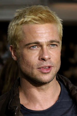 brad pitt: Brad Pitt at the Los Angeles Premiere of Mr. & Mrs. Smith held at the Manns Village Theater in Westwood, USA on June 7, 2005.