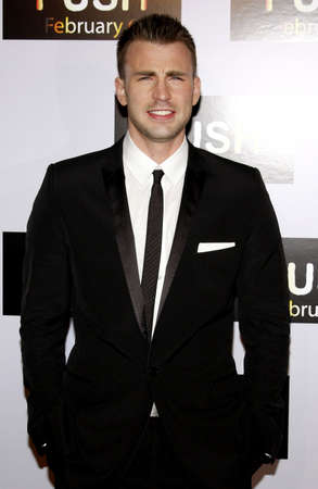 evans: Chris Evans at the Los Angeles premiere of Push held at the Mann Village Theater in Westwood, USA on January 29, 2009.