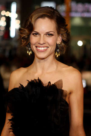 ps: Hilary Swank at the Los Angeles premiere of P.S. I Love You held at the Graumans Chinese Theater in Hollywood, USA on December 9, 2007.