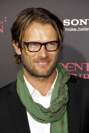 retribution: Johann Urb at the Los Angeles premiere of Resident Evil: Retribution held at the Regal Cinemas L.A. Live in Los Angeles, USA on September 12, 2012.