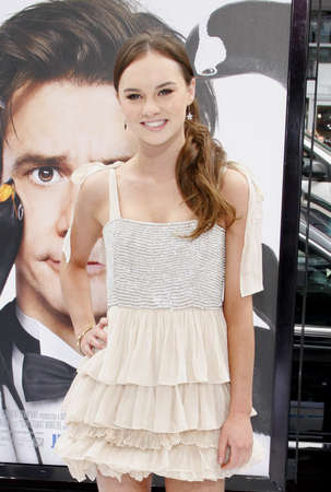 poppers: Madeline Carroll at the Los Angeles premiere of Mr. Poppers Penguins held at the Graumans Chinese Theatre in Hollywood, USA on June 12, 2011.