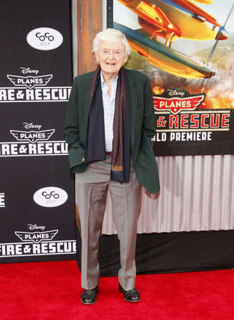 """Hal Holbrook at the Los Angeles premiere of """"Planes: Fire & Rescue"""" held at the El Capitan Theatre in Los Angeles, USA on July 15, 2014."""