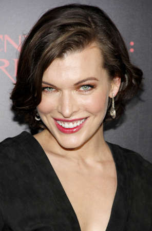 retribution: Milla Jovovich at the Los Angeles premiere of Resident Evil: Retribution held at the Regal Cinemas L.A. Live in Los Angeles, USA on September 12, 2012. Editorial