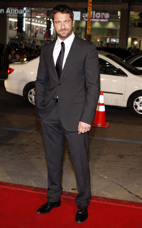 ps: Gerard Butler at the Los Angeles premiere of P.S. I Love You held at the Graumans Chinese Theater in Hollywood, USA on December 9, 2007.