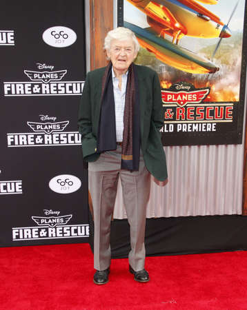 Hal Holbrook at the Los Angeles premiere of 'Planes: Fire & Rescue' held at the El Capitan Theatre in Los Angeles, USA on July 15, 2014.
