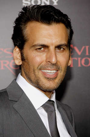retribution: Oded Fehr at the Los Angeles premiere of Resident Evil: Retribution held at the Regal Cinemas L.A. Live in Los Angeles, USA on September 12, 2012. Editorial