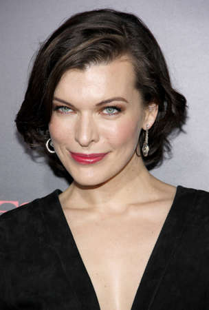 retribution: LOS ANGELES, CA - SEPTEMBER 12, 2012: Milla Jovovich at the Los Angeles premiere of Resident Evil: Retribution held at the Regal Cinemas L.A. Live in Los Angeles, USA on September 12, 2012.