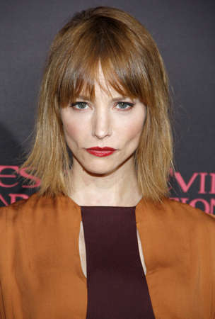 retribution: LOS ANGELES, CA - SEPTEMBER 12, 2012: Sienna Guillory at the Los Angeles premiere of Resident Evil: Retribution held at the Regal Cinemas L.A. Live in Los Angeles, USA on September 12, 2012.