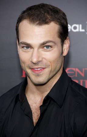 retribution: LOS ANGELES, CA - SEPTEMBER 12, 2012: Shawn Roberts at the Los Angeles premiere of Resident Evil: Retribution held at the Regal Cinemas L.A. Live in Los Angeles, USA on September 12, 2012.