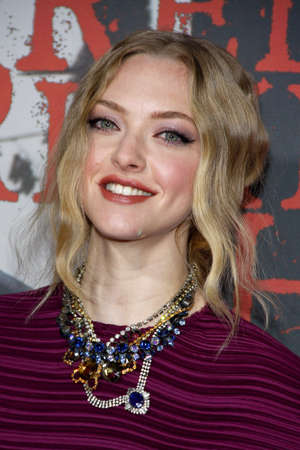 """amanda: Amanda Seyfried at the Los Angeles premiere of """"Red Riding Hood"""" held at the Grauman's Chinese Theater in Hollywood, USA on March 7, 2011."""