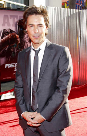 gibson: UNIVERSAL CITY, CA - OCTOBER 02, 2011: Shawn Levy at the Los Angeles premiere of Real Steel held at the Gibson Amphitheatre in Universal City, USA on October 2, 2011.