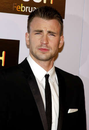 evans: Chris Evans at the Los Angeles premiere of Push held at the Mann Village Theater in Westwood on January 29, 2009.