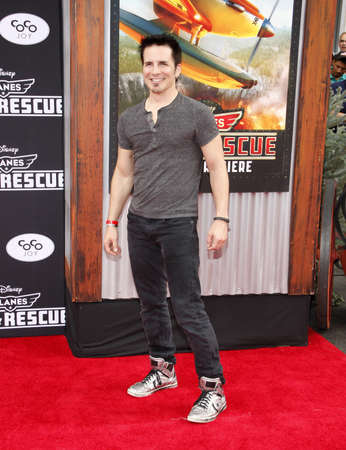 """Hal Sparks at the Los Angeles premiere of """"Planes: Fire & Rescue"""" held at the El Capitan Theatre in Los Angeles, United States, 150714."""