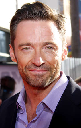 hugh: UNIVERSAL CITY, CA - OCTOBER 02, 2011: Hugh Jackman at the Los Angeles premiere of Real Steel held at the Gibson Amphitheatre in Universal City, USA on October 2, 2011.