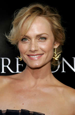 premonition: Amber Valletta at the Los Angeles Premiere of Premonition held at the Cinerama Dome in Hollywood, USA on March 12, 2007.