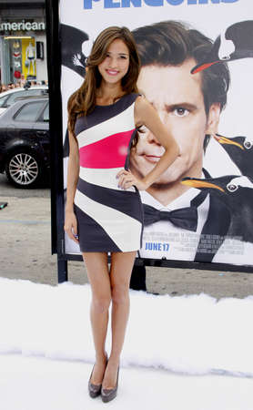 poppers: HOLLYWOOD, CA - JUNE 12, 2011: Kelsey Chow at the Los Angeles premiere of Mr. Poppers Penguins held at the Graumans Chinese Theatre in Hollywood, USA on June 12, 2011.