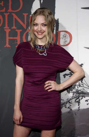 amanda: Amanda Seyfried at the Los Angeles premiere of Red Riding Hood held at the Graumans Chinese Theater in Hollywood, USA on March 7, 2011.