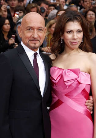 persia: Sir Ben Kingsley and Daniela Lavender at the Los Angeles premiere of 'Prince Of Persia: The Sands Of Time' held at the Grauman's Chinese Theatre in Hollywood, USA on May 17, 2010.
