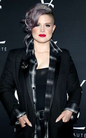 laurent: Kelly Osbourne at Zoe Kravitz celebrates her new role with Yves Saint Laurent Beauty held at the Gibson Brands Sunset in West Hollywood, USA on May 18, 2016. Editorial