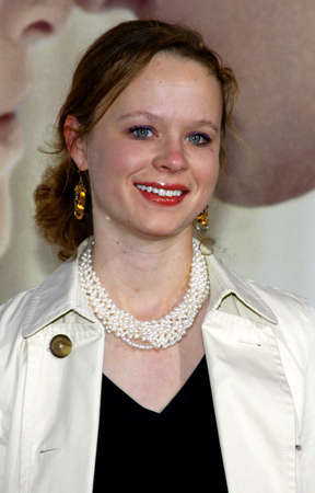 Thora Birch at the Los Angeles premiere of 'Revolutionary Road' held at the Mann Village Theater in Westwood on December 15, 2008.