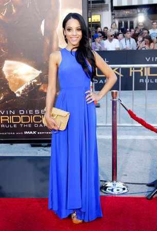 Bianca Lawson at the Los Angeles premiere of Riddick held at the Regency Village Theatre in Westwood, USA on August 28, 2013.