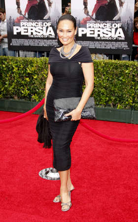 persia: Tia Carrere at the Los Angeles premiere of Prince Of Persia: The Sands Of Time held at the  Graumans Chinese Theatre in Hollywood, USA on May 17, 2010. Editorial