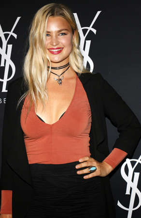 gibson: Jennifer Akerman at Zoe Kravitz celebrates her new role with Yves Saint Laurent Beauty held at the Gibson Brands Sunset in West Hollywood, USA on May 18, 2016. Editorial