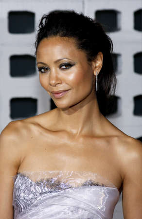 premiere: Thandie Newton at the Los Angeles premiere of RocknRolla held at the ArcLight Cinemas in Hollywood on October 6, 2008.