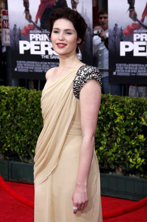 persia: Gemma Arterton at the Los Angeles premiere of 'Prince Of Persia: The Sands Of Time' held at the  Grauman's Chinese Theatre in Hollywood, USA on May 17, 2010.