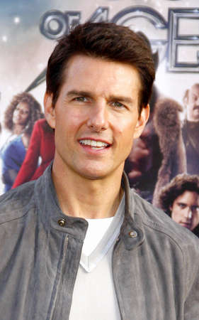 HOLLYWOOD, CA - JUNE 08, 2012: Tom Cruise at the Los Angeles premiere of 'Rock of Ages' held at the Grauman's Chinese Theatre in Hollywood, USA on June 8, 2012. Stock Photo - 56845405