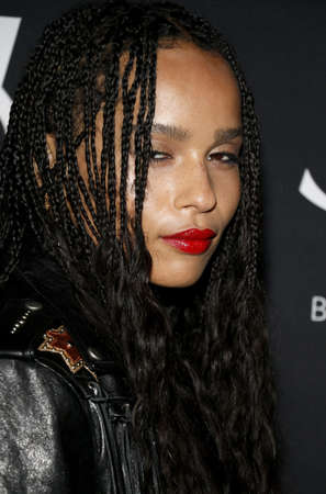 gibson: Zoe Kravitz at Zoe Kravitz celebrates her new role with Yves Saint Laurent Beauty held at the Gibson Brands Sunset in West Hollywood, USA on May 18, 2016. Editorial