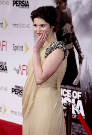 persia: Gemma Arterton at the Los Angeles premiere of Prince Of Persia: The Sands Of Time held at the  Graumans Chinese Theatre in Hollywood, USA on May 17, 2010.