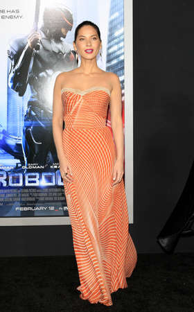 Olivia Munn at the Los Angeles premiere of