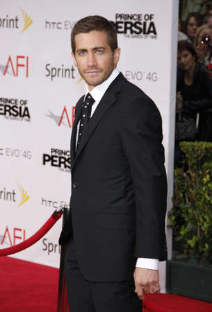 persia: Jake Gyllenhaal at the Los Angeles premiere of Prince Of Persia: The Sands Of Time held at the  Graumans Chinese Theatre in Hollywood, USA on May 17, 2010.