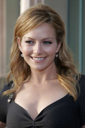 leonard: Becki Newton at the Evening with Ugly Betty held at the Leonard H. Goldenson Theatre in North Hollywood, USA on April 30, 2007.