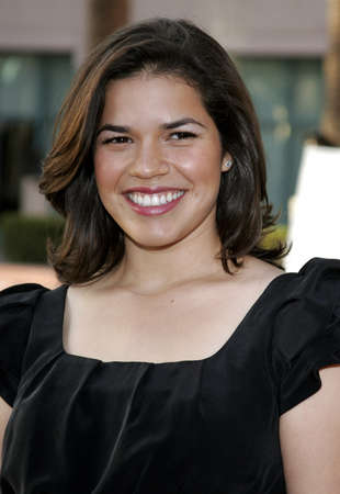 leonard: America Ferrera at the Evening with Ugly Betty held at the Leonard H. Goldenson Theatre in North Hollywood, USA on April 30, 2007.