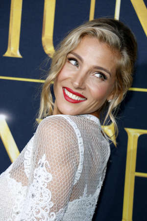 Elsa Pataky at the Los Angeles premiere of The Huntsman: Winters War held at the Regency Village Theatre in Westwood, USA on April 11, 2016. Editorial