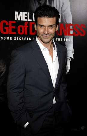 Frank Grillo at the Los Angeles premiere of Edge Of Darkness held at the Grauman Chinese Theatre in Hollywood on January 26, 2010. 新聞圖片