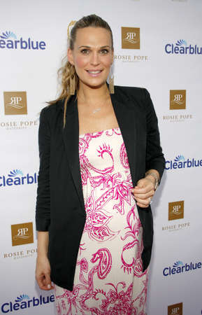 molly: SANTA MONICA, CA - MARCH 29, 2012: Molly Sims at the Rosie Pope Maternity Store Opening in Santa Monica, USA on March 29, 2012.