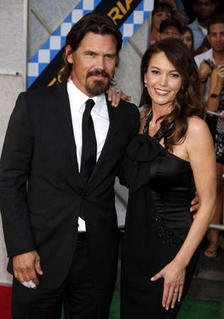 secretariat: HOLLYWOOD, CA - SEPTEMBER 30, 2010: Diane Lane and Josh Brolin at the Los Angeles premiere of Secretariat held at the El Capitan Theater in Hollywood, USA on September 30, 2010.