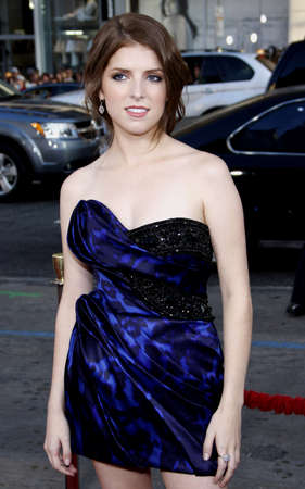 premiere: Anna Kendrick at the Los Angeles premiere of 'Scott Pilgrim vs. The World' held at the Grauman's Chinese Theater in Hollywood, USA on July 27, 2010. Editorial