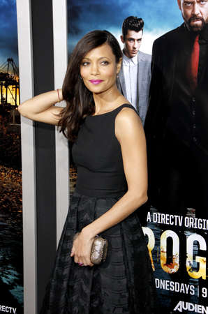 rogue: Thandie Newton at the Los Angeles premiere of Rogue held at the ArcLight Theater in Los Angeles, USA on March 26, 2013.
