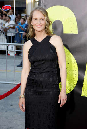 june 25: Helen Hunt at the Los Angeles premiere of Savages held at the Mann Village Theater in Westwood on June 25, 2012.