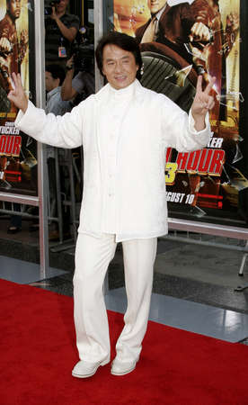 chan: Jackie Chan at the Los Angeles premiere of Rush Hour 3 held at the Manns Chinese Theater in Hollywood, USA on July 30, 2007.