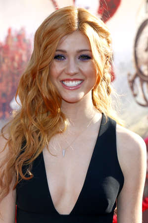 katherine: Katherine McNamara at the Los Angeles premiere of Alice Through The Looking Glass held at the El Capitan Theater in Hollywood, USA on May 23, 2016.