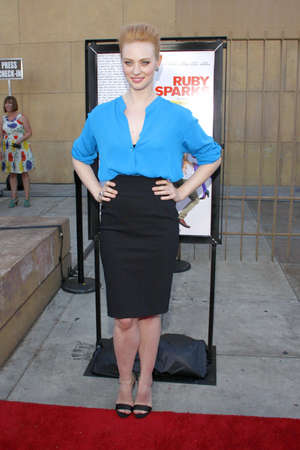woll: HOLLYWOOD, CA - JULY 19, 2012: Deborah Ann Woll at the Los Angeles premiere of Ruby Sparks held at the Egyptian Theatre in Hollywood, USA on July 19, 2012. Editorial
