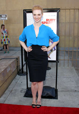 woll: HOLLYWOOD, CA - JULY 19, 2012: Deborah Ann Woll at the Los Angeles premiere of 'Ruby Sparks' held at the Egyptian Theatre in Hollywood, USA on July 19, 2012. Editorial